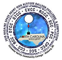 NASA NC Space Grant High Altitude Balloon Competition logo