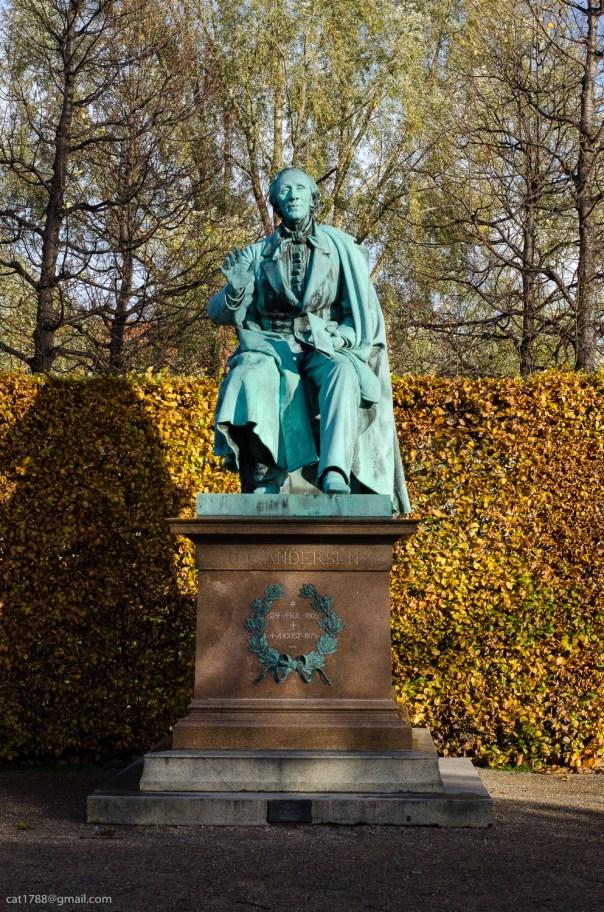 HC Andersen, Copenhagen