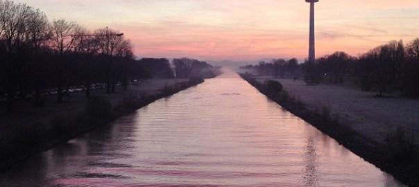 Mannheim sunrise