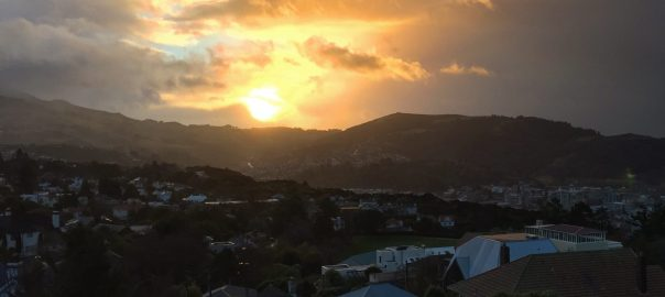 Roslyn sunrise