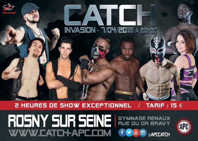 Show de Catch à Rosny-sur-Seine
