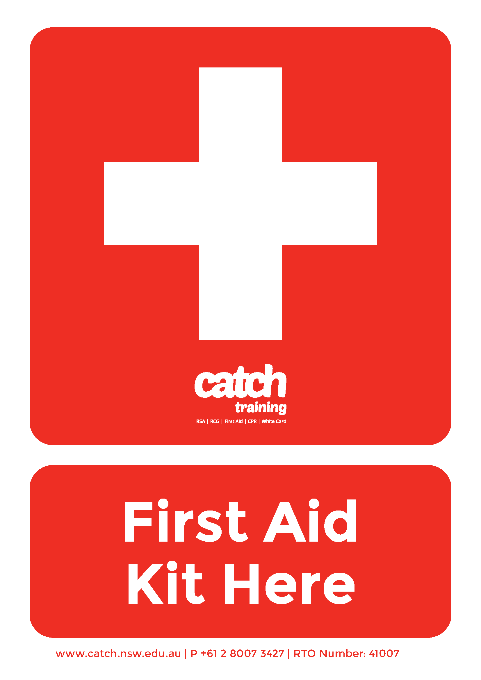 First Aid Cards Printable