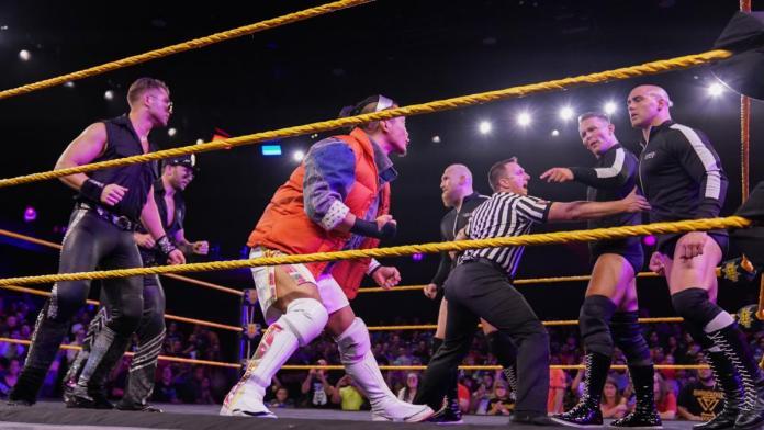 Résultats WWE NXT 25 Septembre 2019