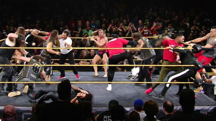 Résultats WWE NXT 18 Septembre 2019
