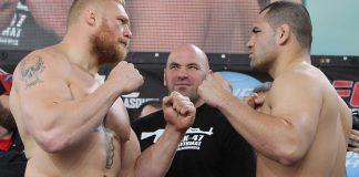 La WWE veut Cain Velasquez vs Brock Lesnar