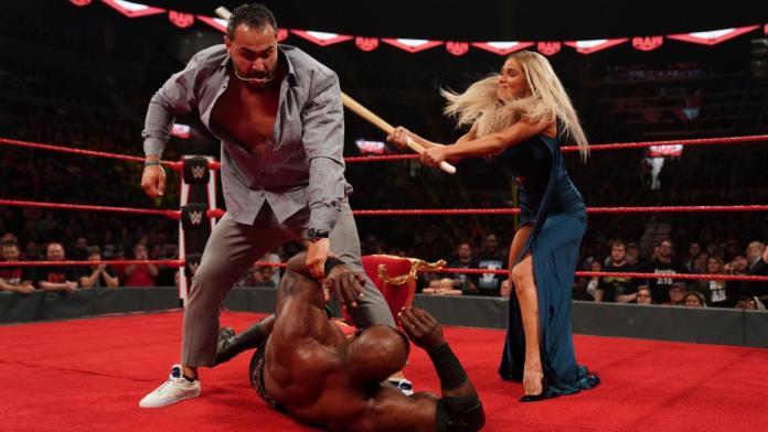 Résultats WWE RAW 28 Octobre 2019