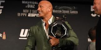 The Rock dans un film sur un combattant UFC