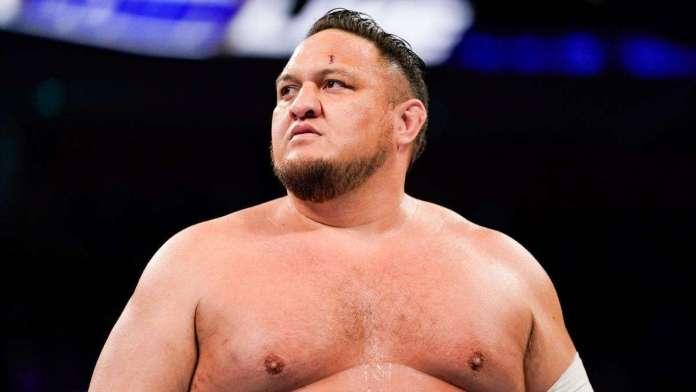 Samoa Joe suspendu par la WWE