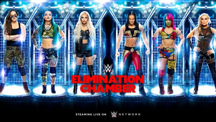 Résultats WWE Elimination Chamber 2020