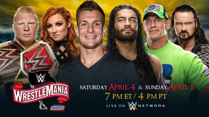 WrestleMania 36 sur deux jours