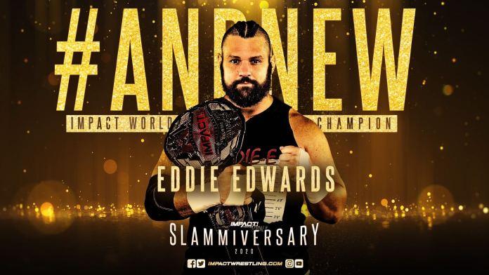 Eddie Edwards Champion