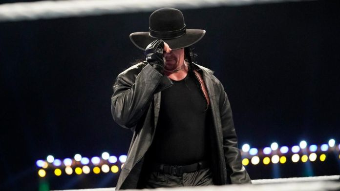 The Undertaker Adieux