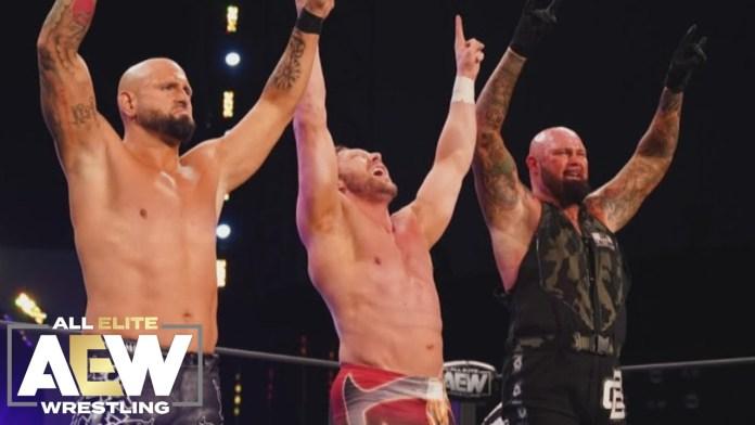 Résultats AEW Dynamite New Year's Smash (Nuit 2)