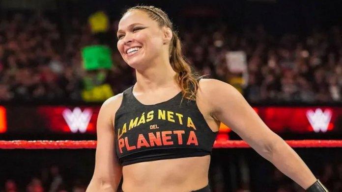 Ronda Rousey enceinte