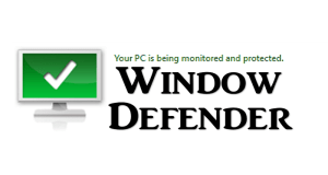 window defender protected computer