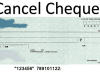 make cancelled cheque
