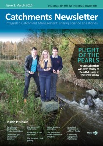 Catchments Newsletter Cover March 2016