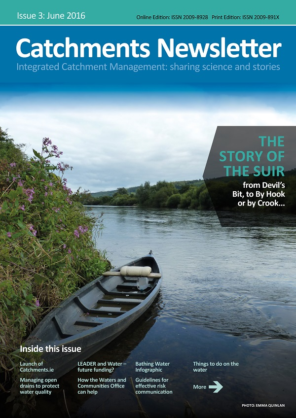 Catchments Newsletter - sharing science and stories. June 2016.
