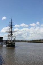 The Dunbrody on the Nore at New Ross Photo: Robert Wilkes