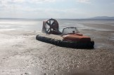 EPA Hovercraft: used for sampling in otherwise inaccessible estuaries Photo: Robert Wilkes