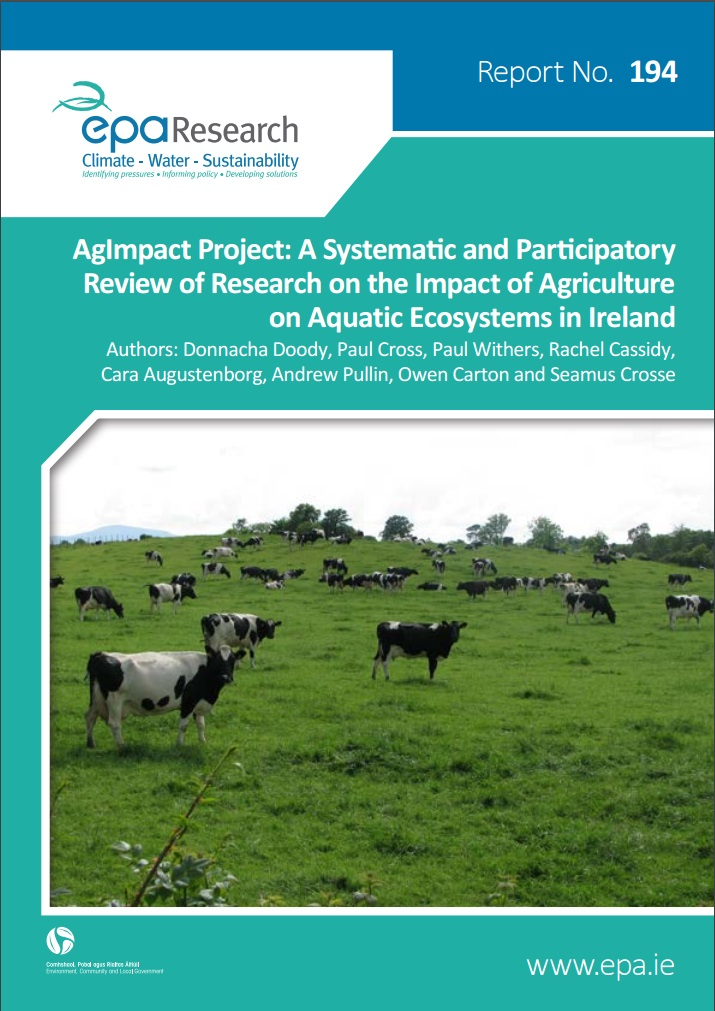 EPA Research 194 AgImpact Front Cover