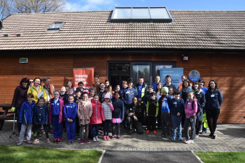 LOCAL SCHOOLCHILDREN HAD A GREAT OPPORTUNITY TO LEARN ABOUT THEIR LOCAL RIVER
