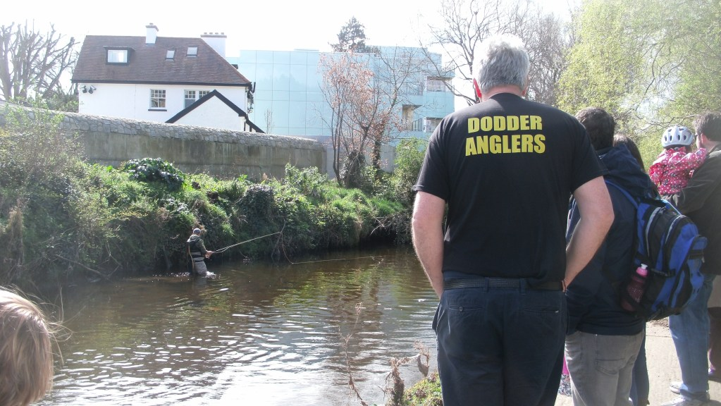 DODDER ANGLERS DEMONSTRATE THE SKILL AND PATIENCE NEEDED TO CATCH A FISH