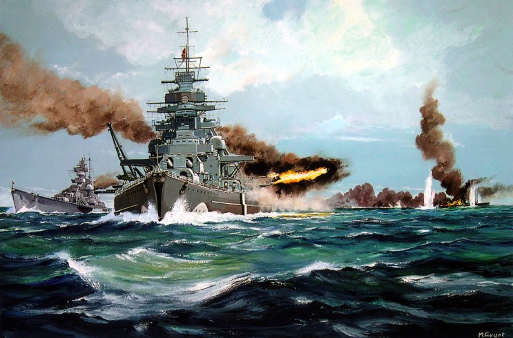 May 27th, 1941 | The RN Sinks the German Bismarck
