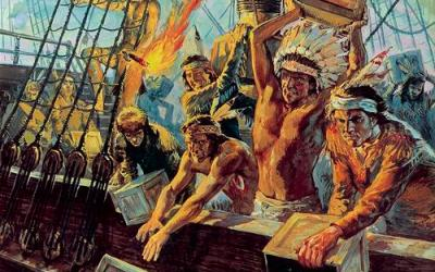December 16th, 1773 | The Boston Tea Party