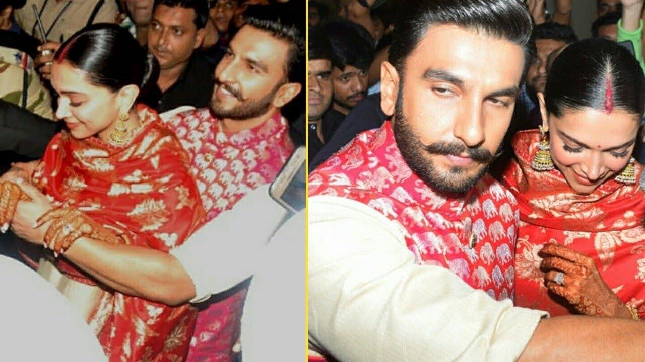 Ranveer Singh protects Deepika Padukone