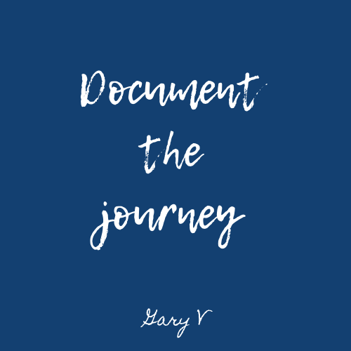 Document the journey NW