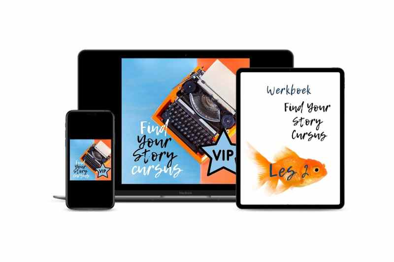Multi devices mockup Find Your Story VIP