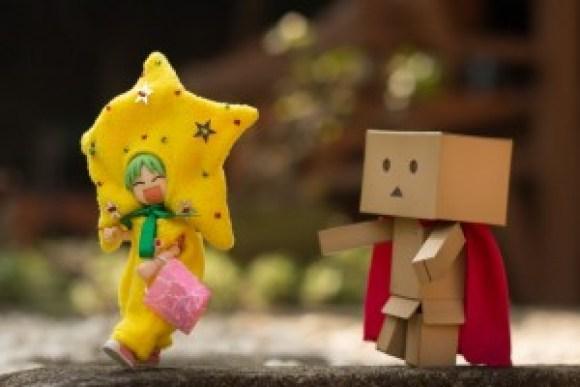 Yotsuba and Danbo:Trick or Treat on Halloween