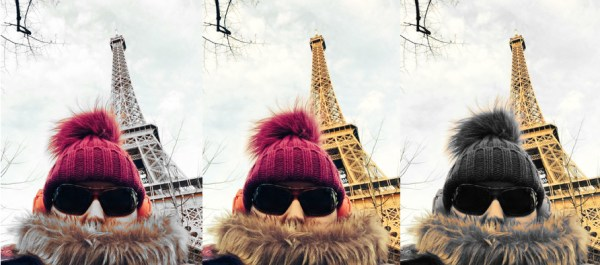 Me, ending the year in Paris. Wiser, fluffier and giving fewer fucks than a year ago.