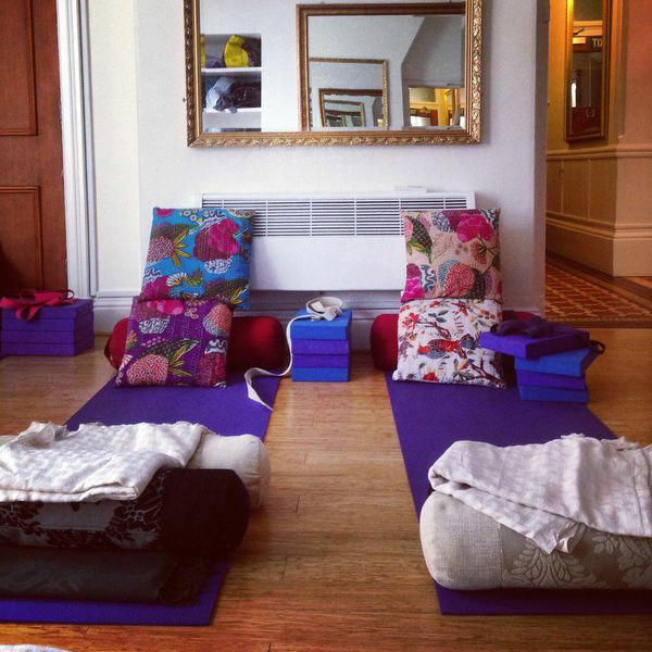 Restorative yoga workshop in York