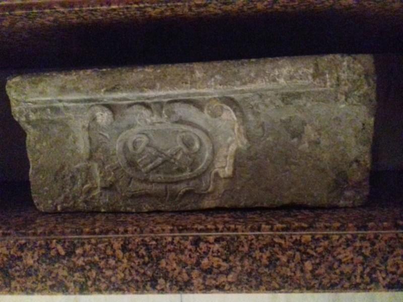 escudo Papal en la Catedral de Cartagena