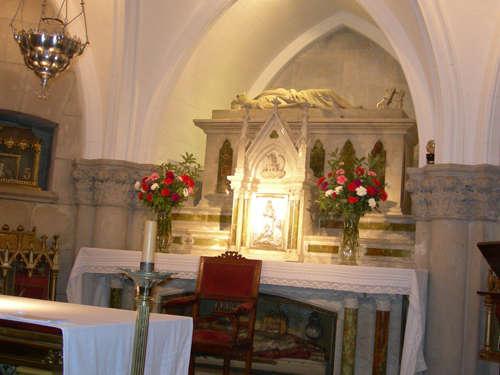 cripta de la catedral de Mar del Plata