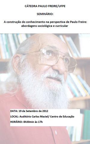 II Seminário Paulo Freire