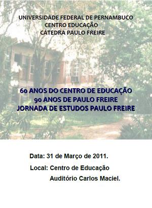 Jornada de Estudos Paulo Freire