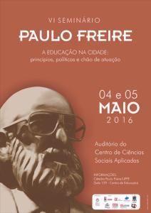 VI Seminário Paulo Freire