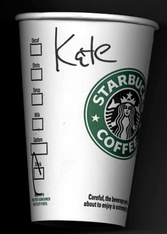 coffee cup name kete