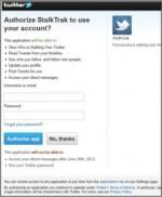 StalkTrak: pericolo SCAM e PHISHING su Twitter