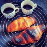 Breakfast in black