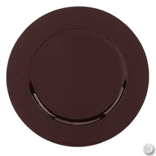 Acrylic Charger Plate Brown Buy Acrylic Charger Plate