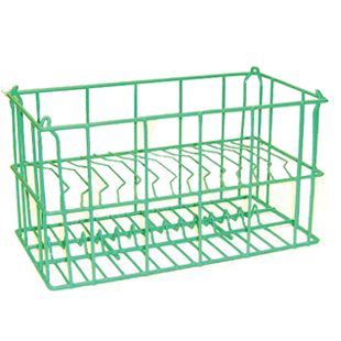 12 compartment wire charger plate rack