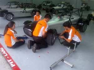 TOC crew working