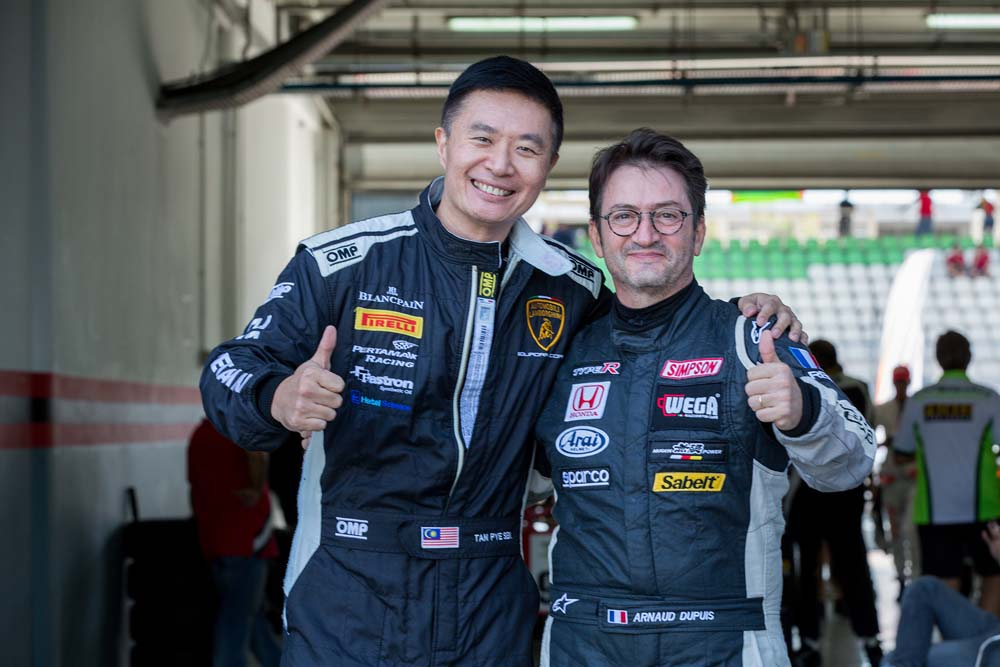 420R rivals: Tan Pye Sen & Arnaud Dupuis.