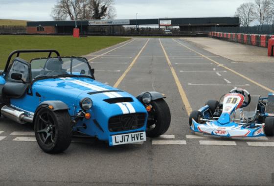 14 Caterham 620S vs Go Kart feat Jamie Chadwick YouTube
