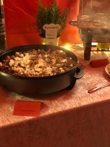 Champignons Live cooking Paella24 Catering