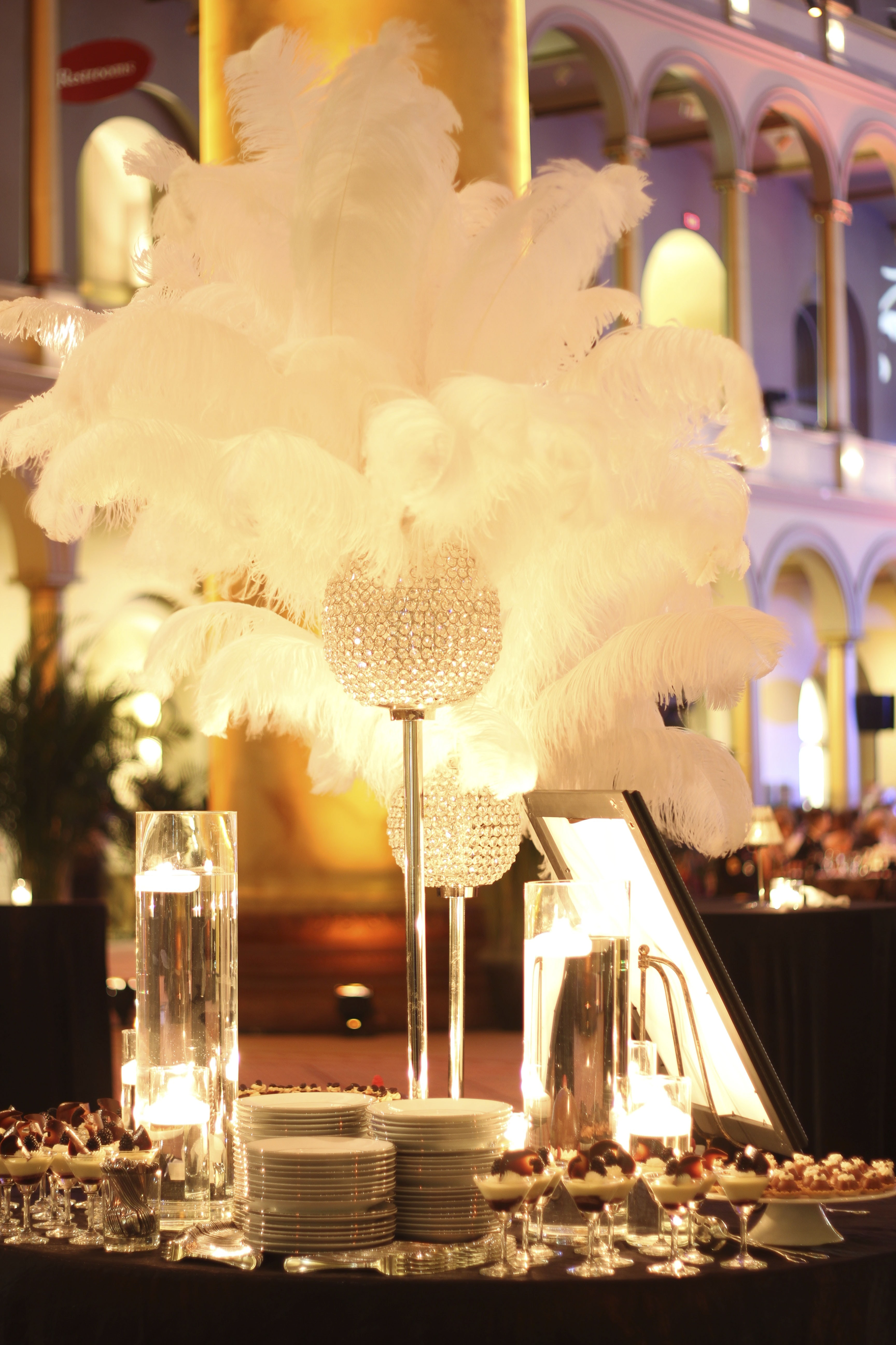 Gatsby Themed Dinner Windows Catering Company Maryland